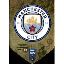 Escudo Manchester City 10FIFA 365 Adrenalyn XL