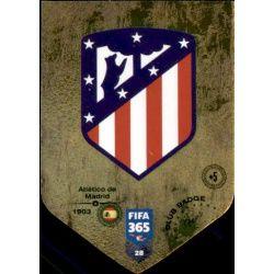 Escudo Atlético Madrid 28