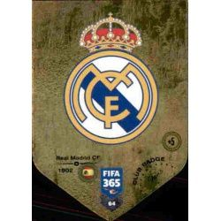 Escudo Real Madrid 64FIFA 365 Adrenalyn XL