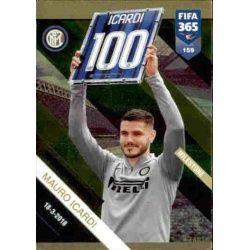 Mauro Icardi Inter Milestone 159 FIFA 365 Adrenalyn XL