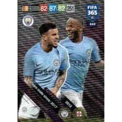 Walker / Sterling Manchester City Club Country 343FIFA 365 Adrenalyn XL