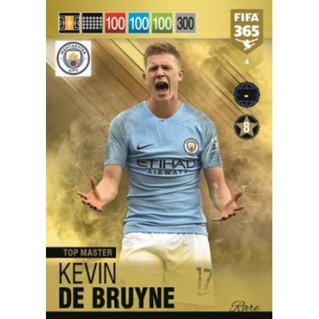 Kevin of Bruyne Top Master 4 FIFA 365 Adrenalyn XL