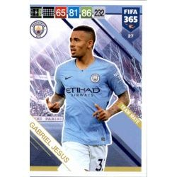Gabriel Jesus Manchester City 27