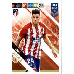 José Giménez Atlético Madrid 37
