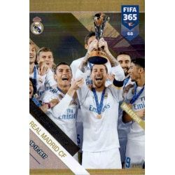 3 Times Champion Real Madrid Milestone 69FIFA 365 Adrenalyn XL