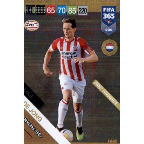 Fifa 365 cards 2019-209-luuk de jong-fans favourite