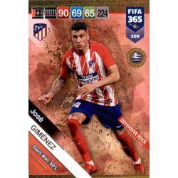 José Giménez Defensive Rock 308 FIFA 365 Adrenalyn XL
