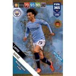 Leroy Sané Key Players 316 FIFA 365 Adrenalyn XL