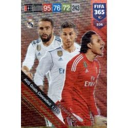 Real Madrid Defensive Wall 336FIFA 365 Adrenalyn XL