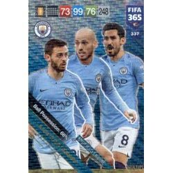 Manchester City Midfield Engine 337FIFA 365 Adrenalyn XL