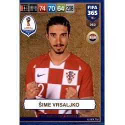 Šime Vrsaljko FIFA World Cup Heroes 363 FIFA 365 Adrenalyn XL