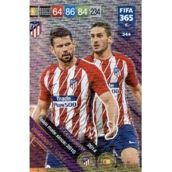 Costa / Koke Atlético Madrid Club Country 344FIFA 365 Adrenalyn XL