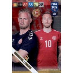 Schmeichel / Eriksen Scandinavian Stars 397 Nordic Edition Fifa 365 2019