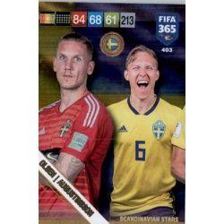Olsen / Augustinsson Scandinavian Stars 403 Nordic Edition Fifa 365 2019