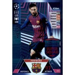 Lionel Messi Limited Edition LE11 Match Attax Champions 2018-19