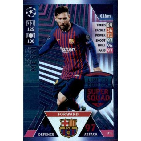 Lionel Messi Limited Edition LE11
