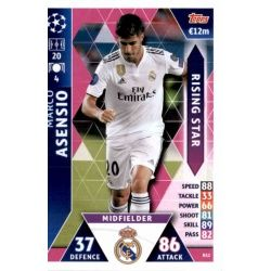 Marco Asensio Rising Stars RS2Match Attax Champions 2018-19