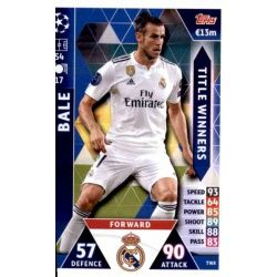 Gareth Bale Title Winners TW8 Match Attax Champions 2018-19