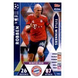 Arjen Robben Title Winners TW11 Match Attax Champions 2018-19