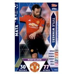 Juan Mata Title Winners TW13 Match Attax Champions 2018-19