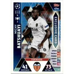 Michy Batshuayi Exclusive Card ES4
