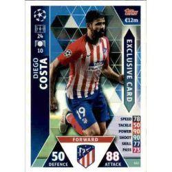 Diego Costa Exclusive Card ES2 Match Attax Champions 2018-19