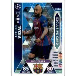 Arturo Vidal Exclusive Card ES1 Match Attax Champions 2018-19