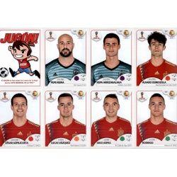 Set Ampliación Selección España Update y Extra Stickers