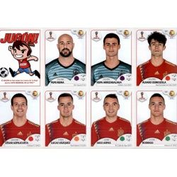Spain Team Expansion SetExtra Stickers Russia 2018