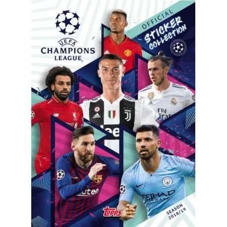 Colección Topps Champions League Sticker Collection 2018-19