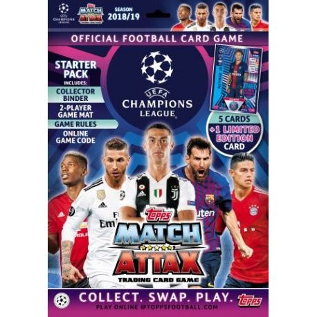 Colección Topps Champions Trading Card Game 2018-19