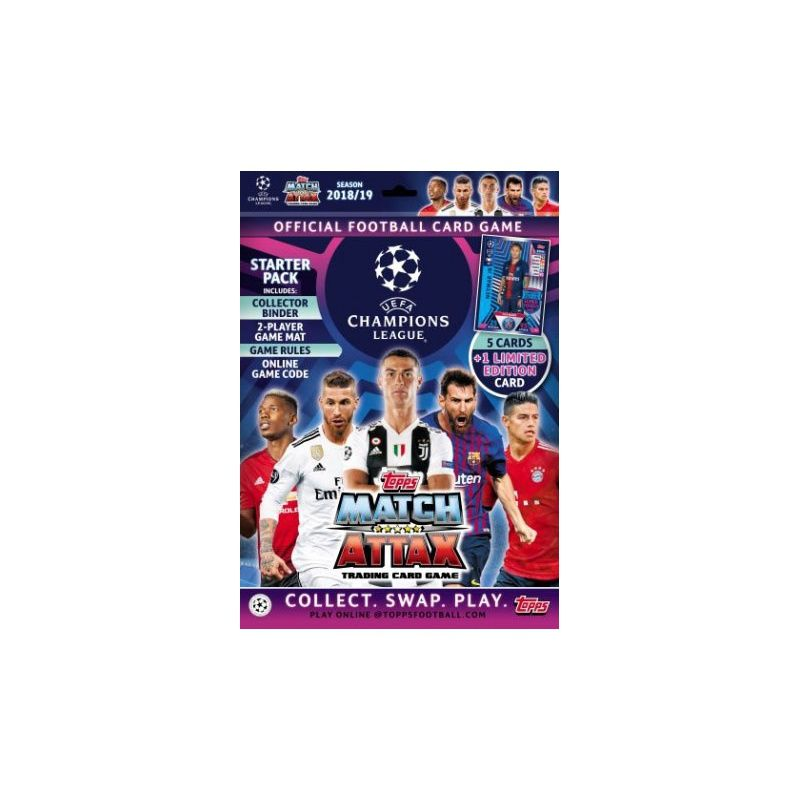 Collection Topps Match Attax Champions 2018-19