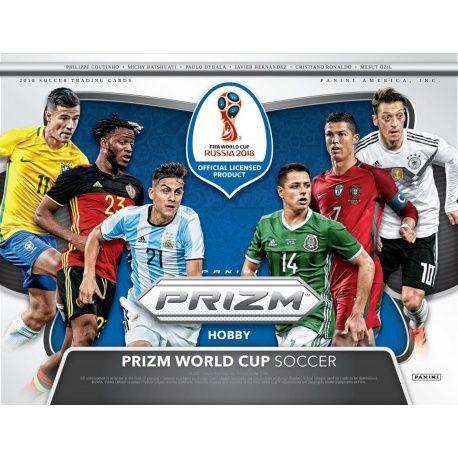 Colección Panini Prizm World Cup Soccer 2018