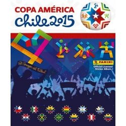 Collection Panini Copa América Chile 2015