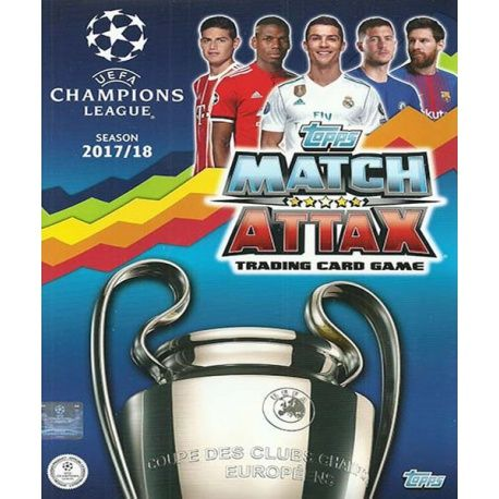 Colección Topps Match Attax Champions 2017-18