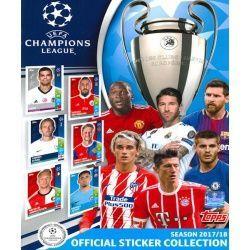 Colección Topps Champions League Sticker Collection 2017-18