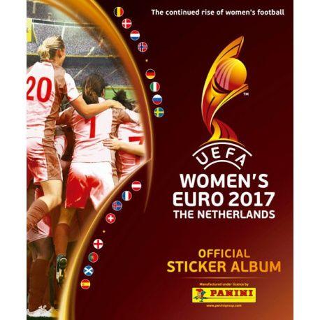 Colección Panini Uefa Women's Euro 2017