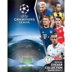 Colección Topps Champions League Sticker Collection 2016-17