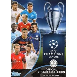 Colección Topps Champions League Sticker Collection 2015-16
