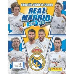 Colección Panini Real Madrid 2015-16