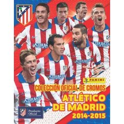 Collection Panini Atlético de Madrid 2014-15