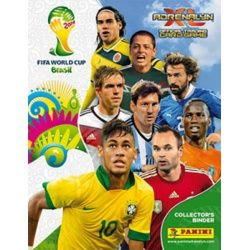 Colección Panini Adrenalyn XL Brasil 2014