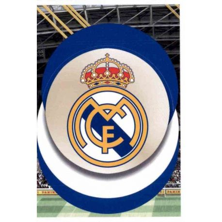 70419ef6e3b Sale Stickers Emblem del Real Madrid Panini Fifa 365 The Golden ...