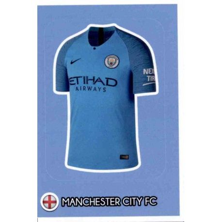 b84e93c5a54f9 Venta Cromos Online Camiseta del Manchester City Fifa 365 Stickers 2019