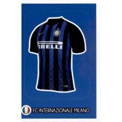 Camiseta - Internazionale Milan 36Panini FIFA 365 2019 Sticker Collection