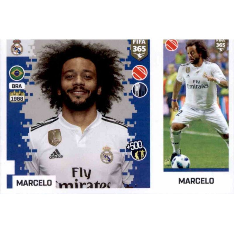 Buy Stickers Marcelo Del Real Madrid Fifa 365 Stickers 2019