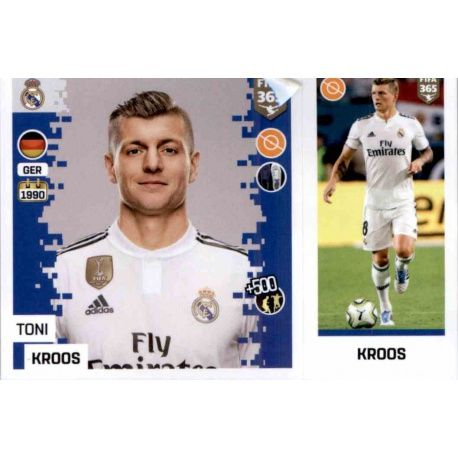 e71f45f4d Buy Stickers Toni Kroos del Real Madrid Fifa 365 Stickers 2019