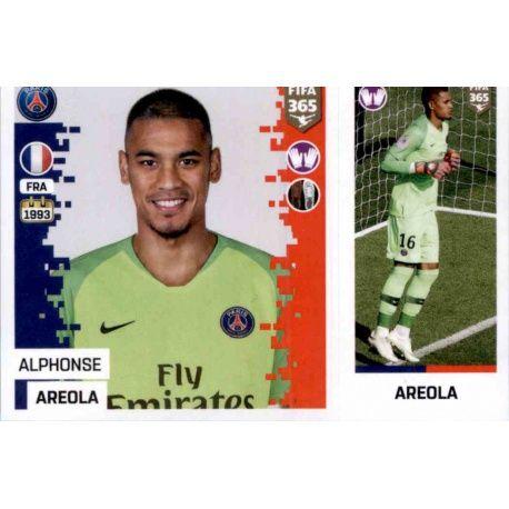 ed68d22125e Panini FIFA 365 2019 Sticker Collection>Alphonse Areola - Paris  Saint-Germain 145. Alphonse Areola - Paris Saint-Germain 145