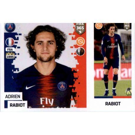 10423d44bb2 Panini FIFA 365 2019 Sticker Collection>Adrien Rabiot - Paris Saint-Germain  152. Adrien Rabiot - Paris Saint-Germain 152
