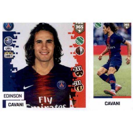 7dbe4331318 Panini FIFA 365 2019 Sticker Collection>Edinson Cavani - Paris Saint-Germain  159. Edinson Cavani - Paris Saint-Germain 159